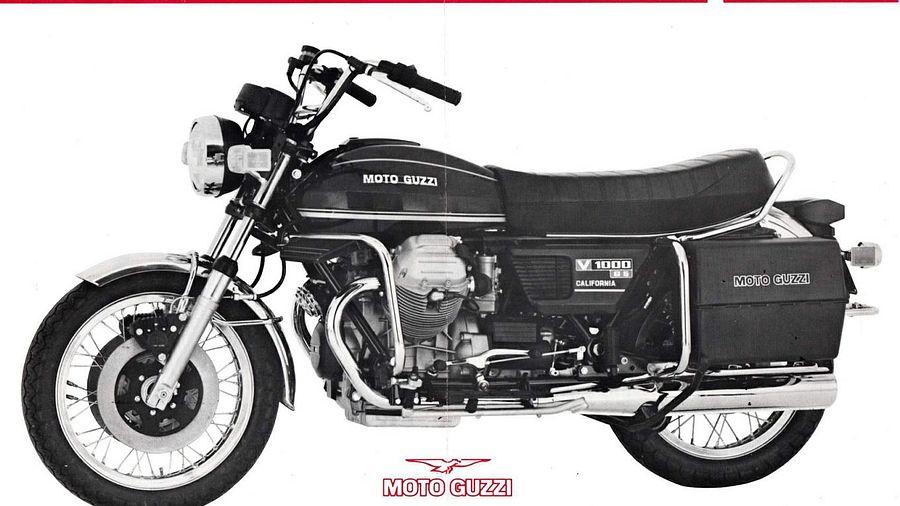 Moto Guzzi V 1000G5 California (1980)