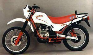 Moto Guzzi V35 TT (1984)