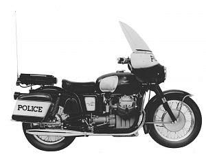 Moto Guzzi V-7 Polizia (1969-70)