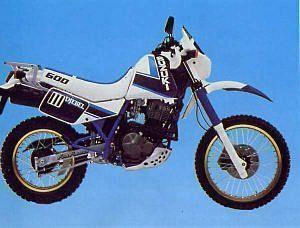 Suzuki DR 600 S / R (1988-89)