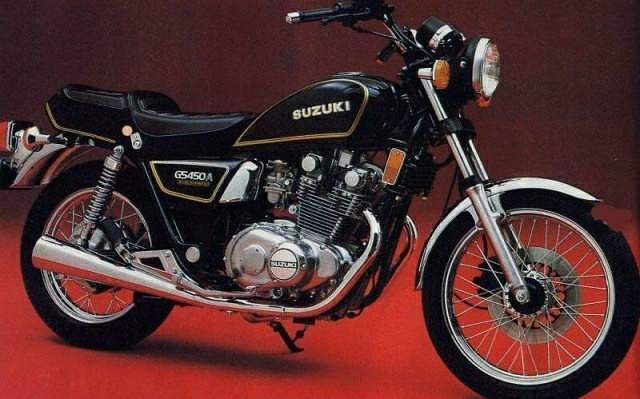 Suzuki GS 450A (1982) - MotorcycleSpecifications com