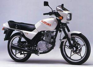 Suzuki GS125E (1986-89)
