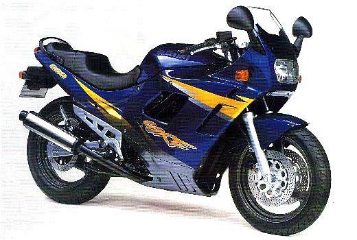Suzuki GSX 600F (1996-97)