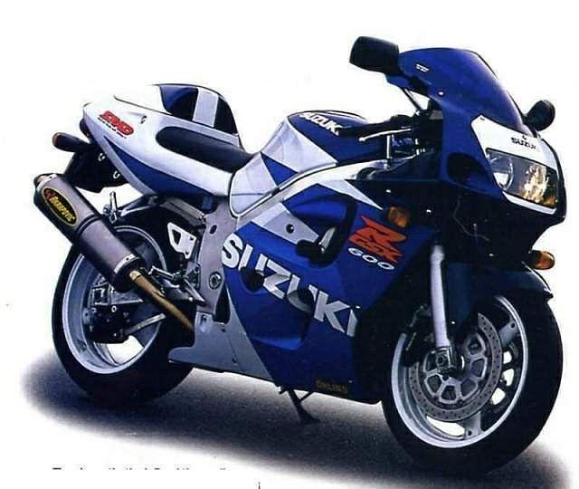 Suzuki GSX-R600 (1999-00)