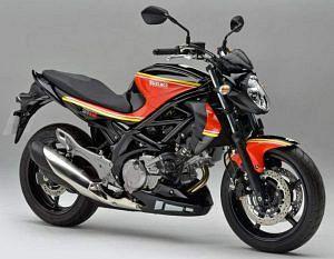 Suzuki SFV 650 Gladius Barry Sheene (2012)