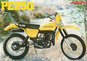 Suzuki PE 250 (1979-80)