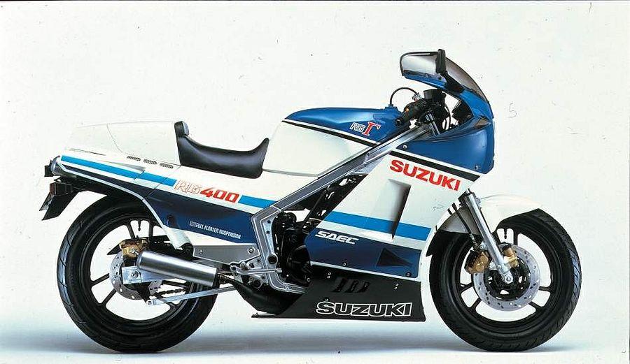 Suzuki RG400 (1985-86)