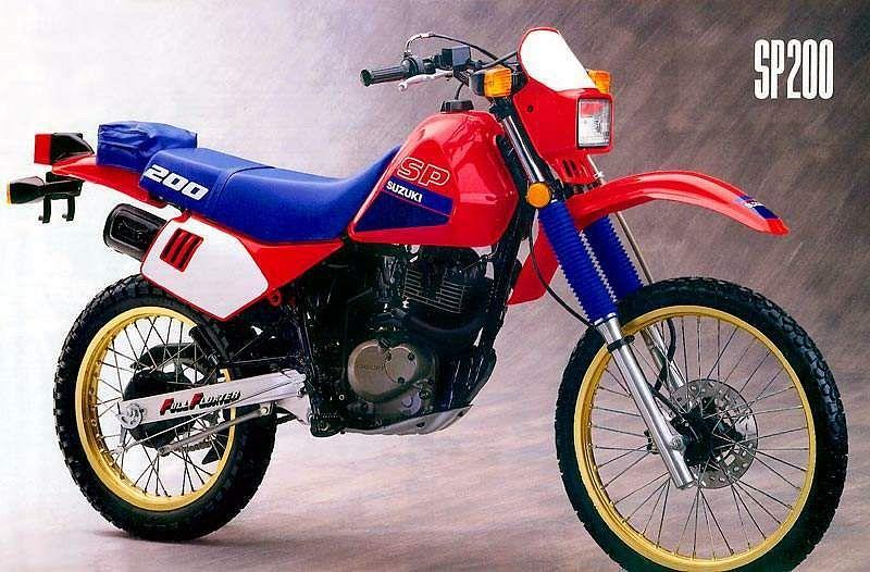 Suzuki SP 200 (1987-88) - MotorcycleSpecifications com