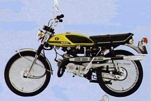 Suzuki T125 II Stinger (1969-72)