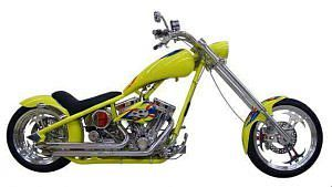 Titan Sidewinder Radical Rigid Hard tail Chopper (2008)