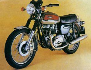 Triumph Bonneville 750 T140E (1979)