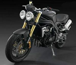 Triumph Speed Triple Matt Black (2008)