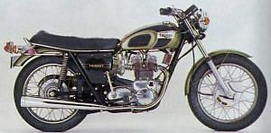 Triumph Trident T150 750 (1971)