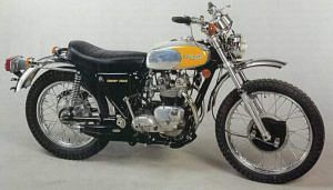 Triumph Trophy TR5T Trail 500 (1973-74)