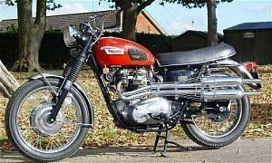 Triumph Trophy TR6C Special (1970)