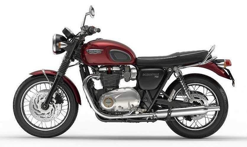 Triumph Bonneville T120 2016 17 Motorcyclespecificationscom