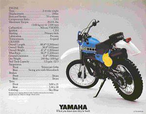 Yamaha IT 250 (1980-81)