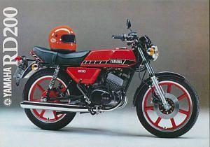 Yamaha RD200 (1979)