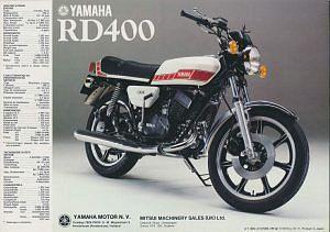 Yamaha RD400F (1978-79)