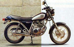 Yamaha SR 250 Classic (1997)