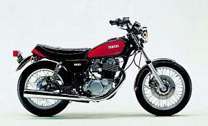 Yamaha SR500SP (1976-77)