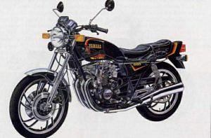 Yamaha XJ550 (1981)
