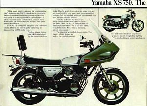 Yamaha XS750 Touring (1977)