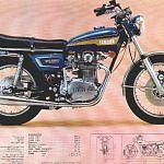 Yamaha xs 650 (1973)