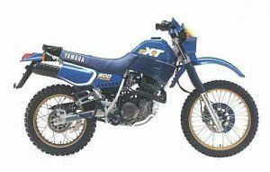 Yamaha XT 600 (1988-89)