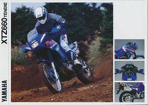 Yamaha XTZ660Z Tenere (1992)