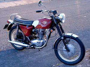 BSA Victor Roadster/Shooting Star (1965-70)