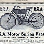 BSA Vintage Models (1968-71)
