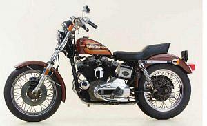 Harley Davidson XLCH 1000 Sportster (1976-77)