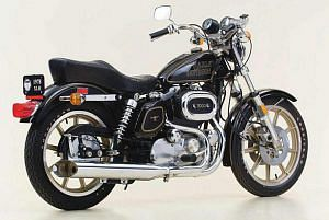 Harley Davidson XLH 1000 Sportster 75 Anniversary (1978)