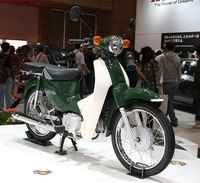 Honda C110 Cub (2009)