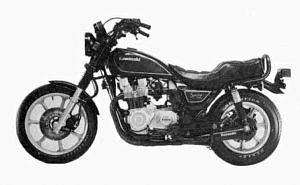 Kawasaki Z1100 A1 (1982-83)