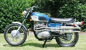 Triumph Trophy TR6C Special (1972-73)